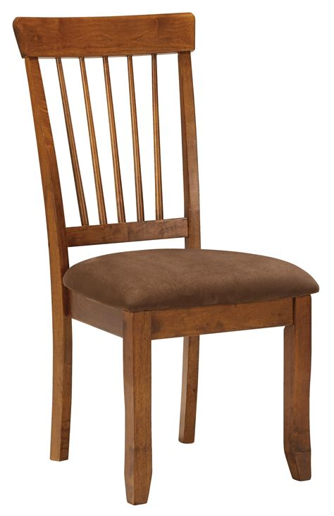 ashley furniture armchair ashley furniture berringer hickory stained side chair with