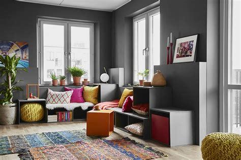 pareti colorate come personalizzare living e camere da