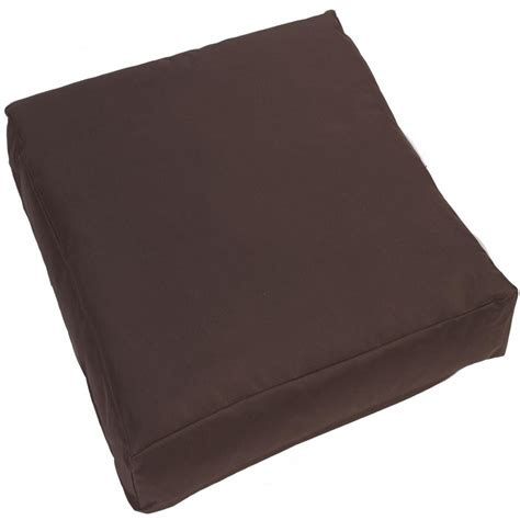 waterproof cushions for patio furniture jumbo large waterproof outdoor cushion chair seat cover pads plush padded pillow ebay