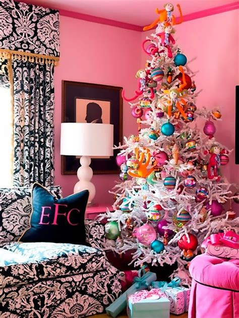 dreaming of a pink christmas pink christmas tree decor