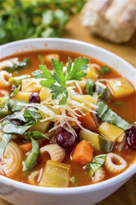 olive garden minestrone soup nutrition facts livestrong