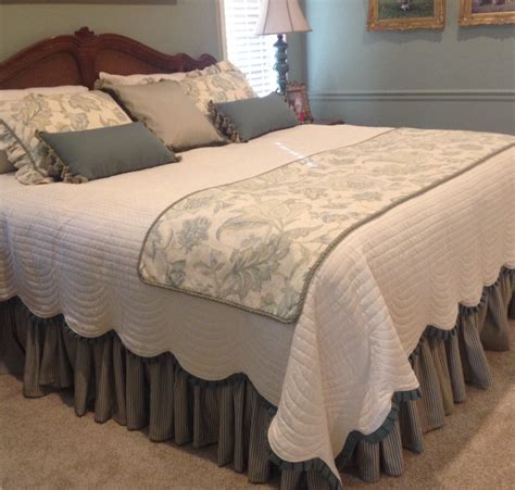 custom bed skirts custom shirred bedskirt unlined choose your own fabric and