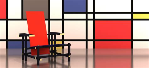 How To Make An Armchair Red And Blue Chair Rietveld Master Meubel Blog