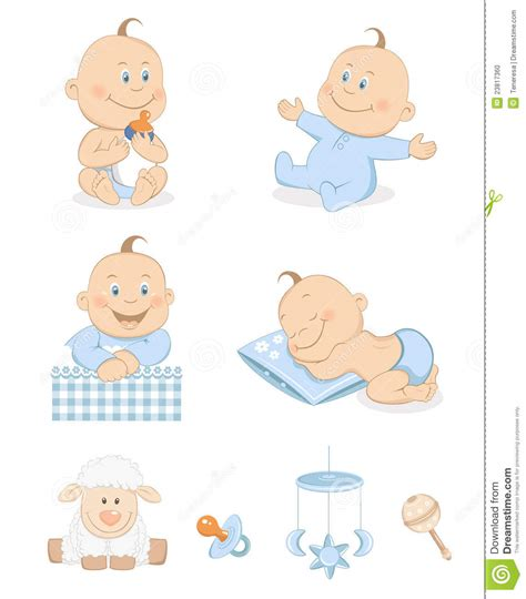 toys and accessories baby boy with toys and accessories stock photo image 23817360