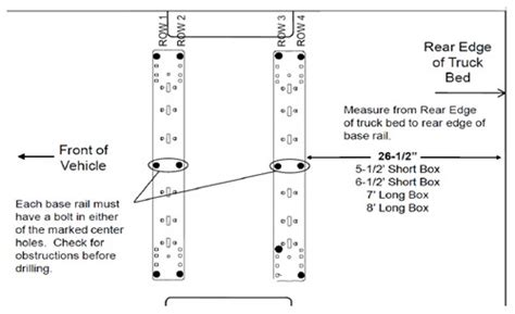 nissan frontier bed dimensions rp58405 instructions update for 2004 2009 nissan titan