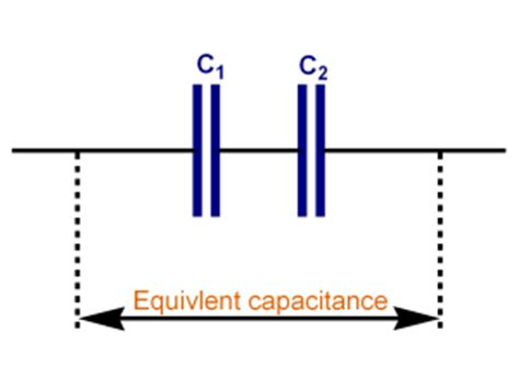 series connected capacitor with formula calctool capacitors in series calculator