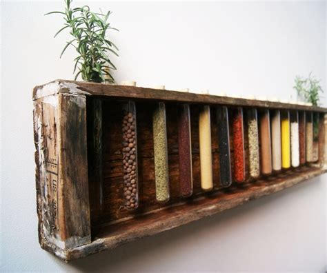 diy spice rack wood wooden spice rack creative ideas