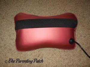 massaging bed rest pillow with heat ohuhu shiatsu deep kneading massage pillow with heat