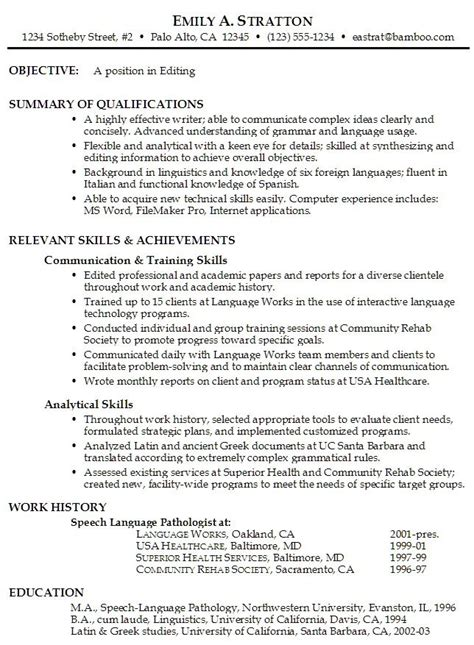 Resume Tips 2014 Objective by 17 Best Ideas About Resume Objective Exles On