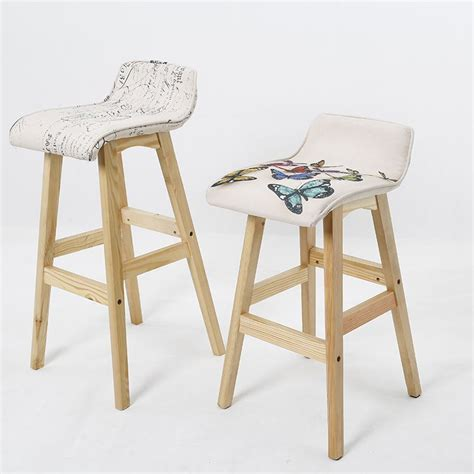 Colored Wooden Bar Stools by Multi Colored Bar Stools Shafsfocus