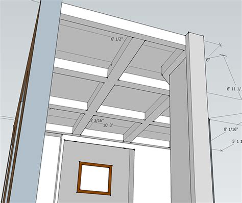 Coffered Ceiling Plans Our Home From Scratch