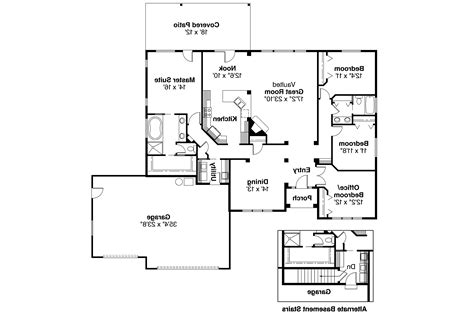 ranch house plans clearfield 30 318 associated designs
