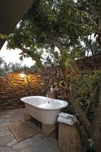 bathroom enjoying relaxing time in sensational outdoor