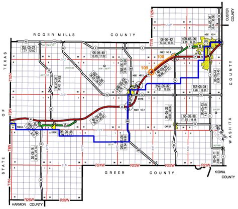 printable map route planner odot planning research division route 66 historic maps