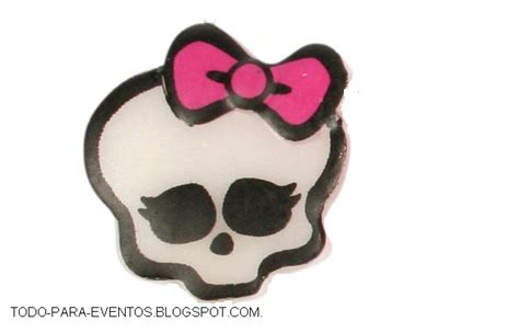 imagenes de calaveras uñas todo para eventos decoracion de monster high