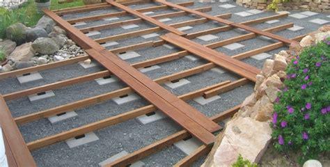 untergrund für terrassendielen bauen dekor terrasse