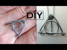 diy harry potter ring necklace pendant wire wrapped ring