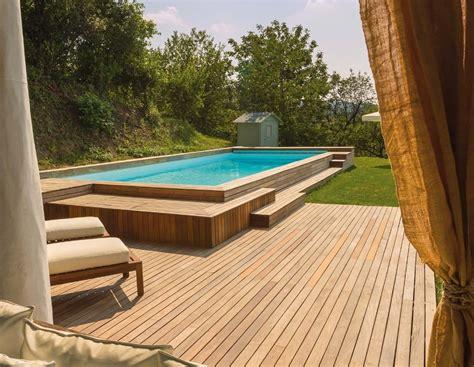 piscine fuori terra rivestite in legno piscine fuori terra come scegliere