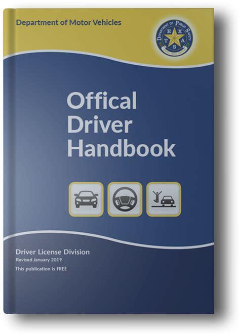 official  dmv handbook drivers manual