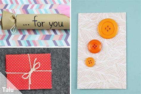 Geschenke Originell Verpacken Tipps by Gutscheine Verpacken 15 Originelle Ideen Und Tipps Talu De