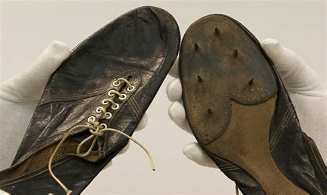 banister shoes roger bannister s four minute mile running shoes could fetch 163 50 000 sport the
