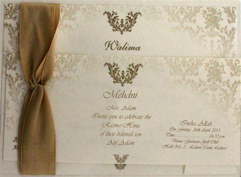 Wedding Cards Designs Rawalpindi by Walima Ceremony Card Studio Design Gallery Best Design