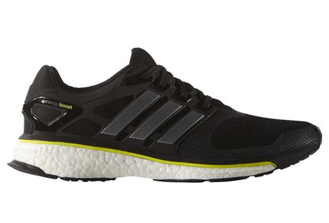 adidas energy boost esm mens running shoes yellow black