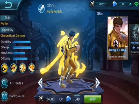 wallpaper mobile legend chou chou guide mobile legends bang bang wikia guide