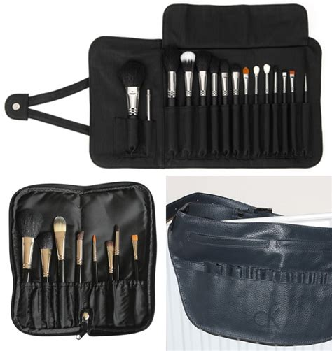 brush belt pattern makeup brush roll bag diy diy do it your self