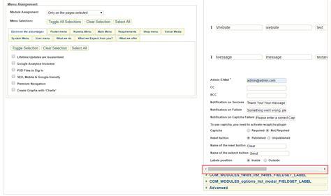 joomla ajax tutorial joomla 3 x troubleshooter quot tm ajax contact form quot module