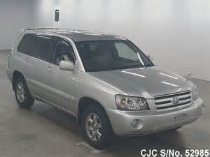 Toyota Kluger Used For Sale 2004 Toyota Kluger Silver For Sale Stock No 52985