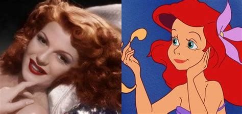 old hollywood actress red hair if old hollywood actresses played disney heroines funk s