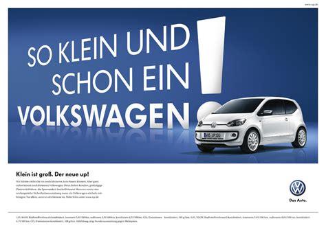 Motorrad Polo Werbung by Marketing Vw Launcht Kagne F 252 R Kompaktwagen Up