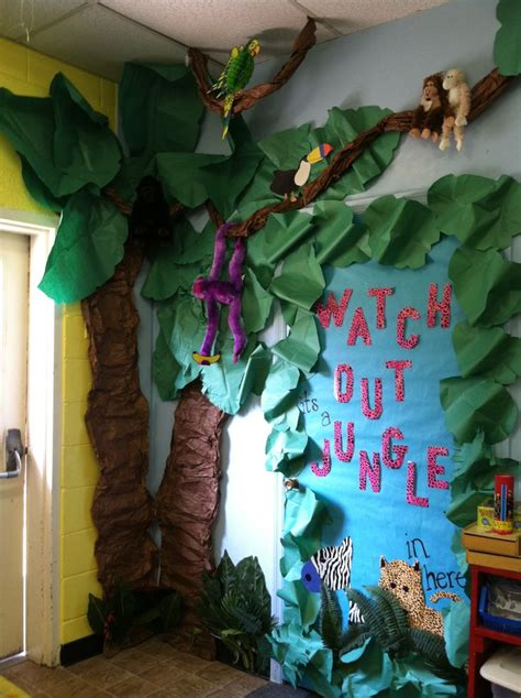 theme decoration jungle safari theme classroom