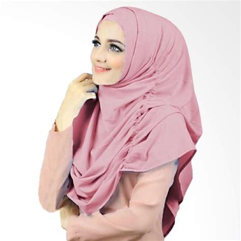 jual milyarda hijab narinda kerudung syari dusty pink
