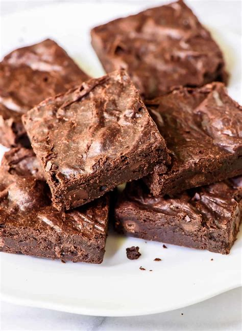 best chocolate brownies one bowl brownies