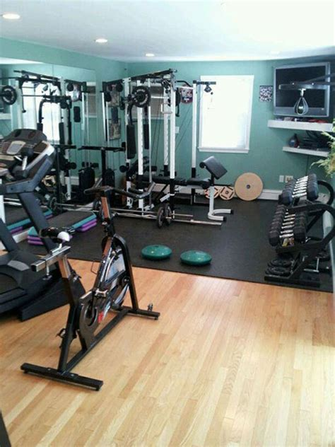 home fitness room designs workout
