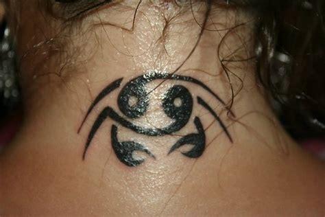 tribal crab tattoo 11 fantastic crab neck tattoos