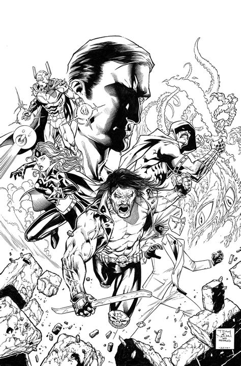 Justice League Vs Suicide Squad #2 - Comic Art Community