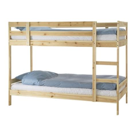 Bunk Bed Frame Mydal Bunk Bed Frame Ikea