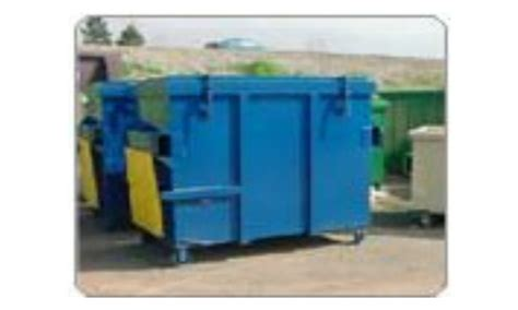 yard front load containers northern california compactors