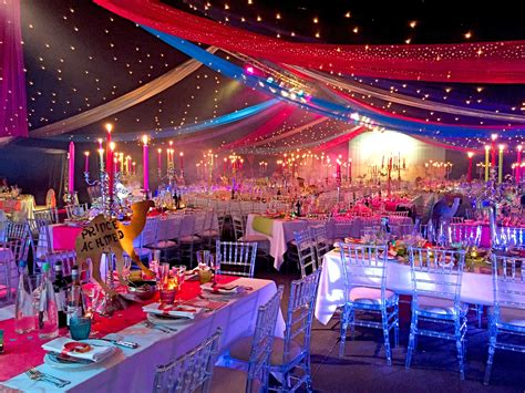 themed party lights bespoke party planners arabian nights theme charity ball