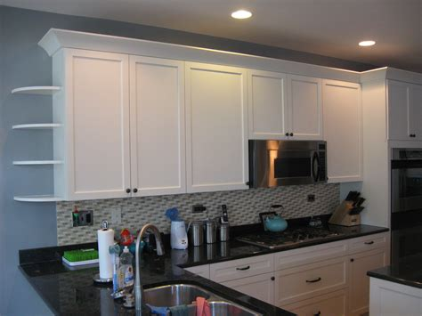 white cabinets with crown molding cabinet refacing images