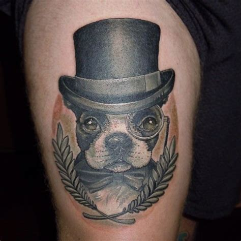 boston tattoos designs 269 best boston terrier images on