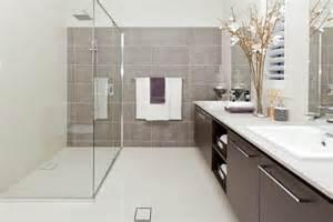 Bathroom Powder Room - metricon tile studio