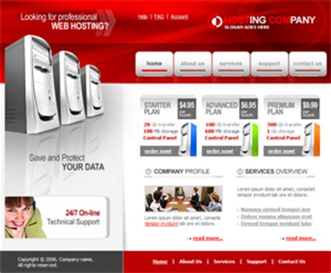 hosting site template free website templates free web templates free web