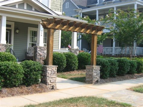 wood arbors and trellises outdoor decorations
