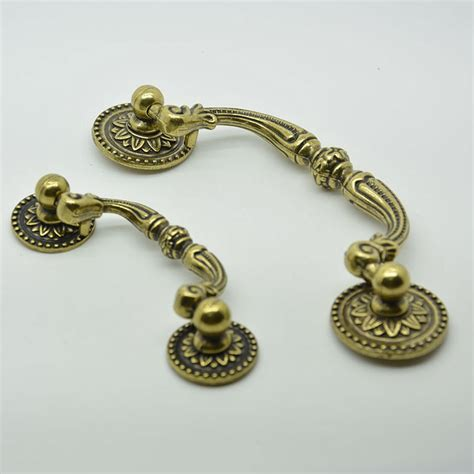 Antique Pulls And Knobs by 64mm Bronze Antique Zinc Alloy 40g Cabinet Knobs And