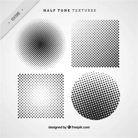halftone pattern in corel halftone circles and squares vector free download
