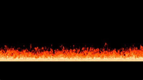 animated line of fire 4 on black background mask included